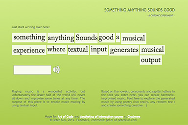 Something Anything Sounds Good teaser