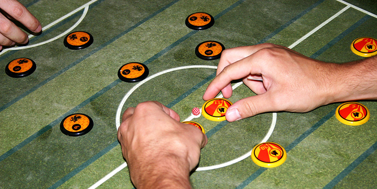 Tabletop touch game